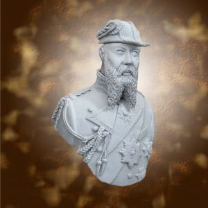 bust of Admiral Tirpitz by Sarnia Miniatures