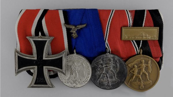 German WW2 4 medal set